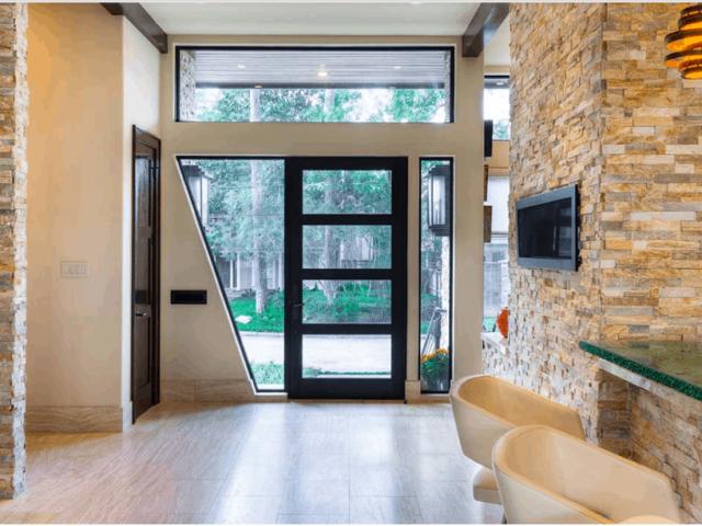 western interior entrance door