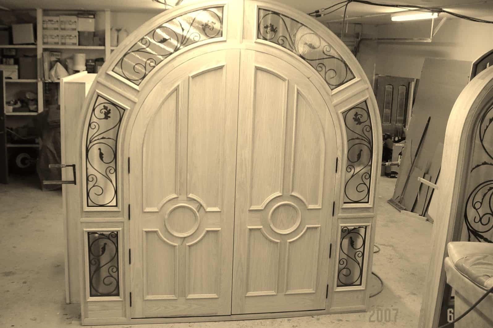 camwood unique door