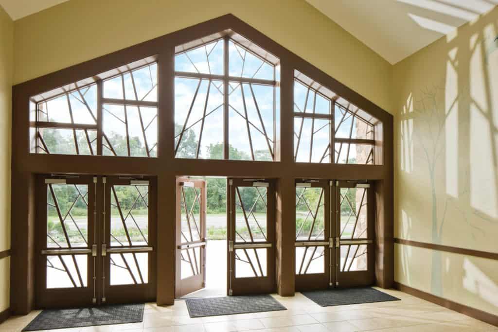 anderson aluminum clad wood door