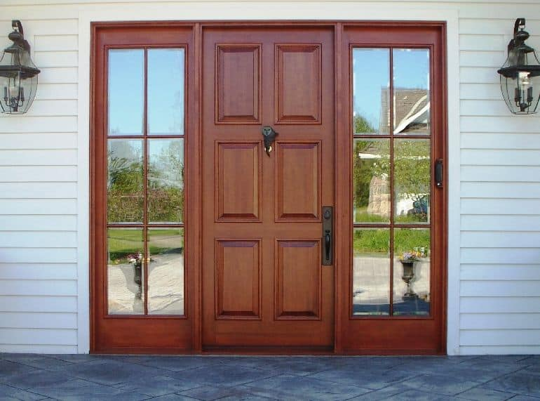synergy wooden front door