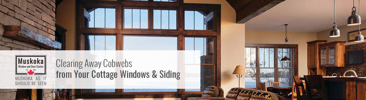 Clearing Away Cobwebs from Your Cottage Windows & Siding